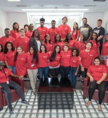 Image of Inaugural Honors Living-Learning Community Cohort