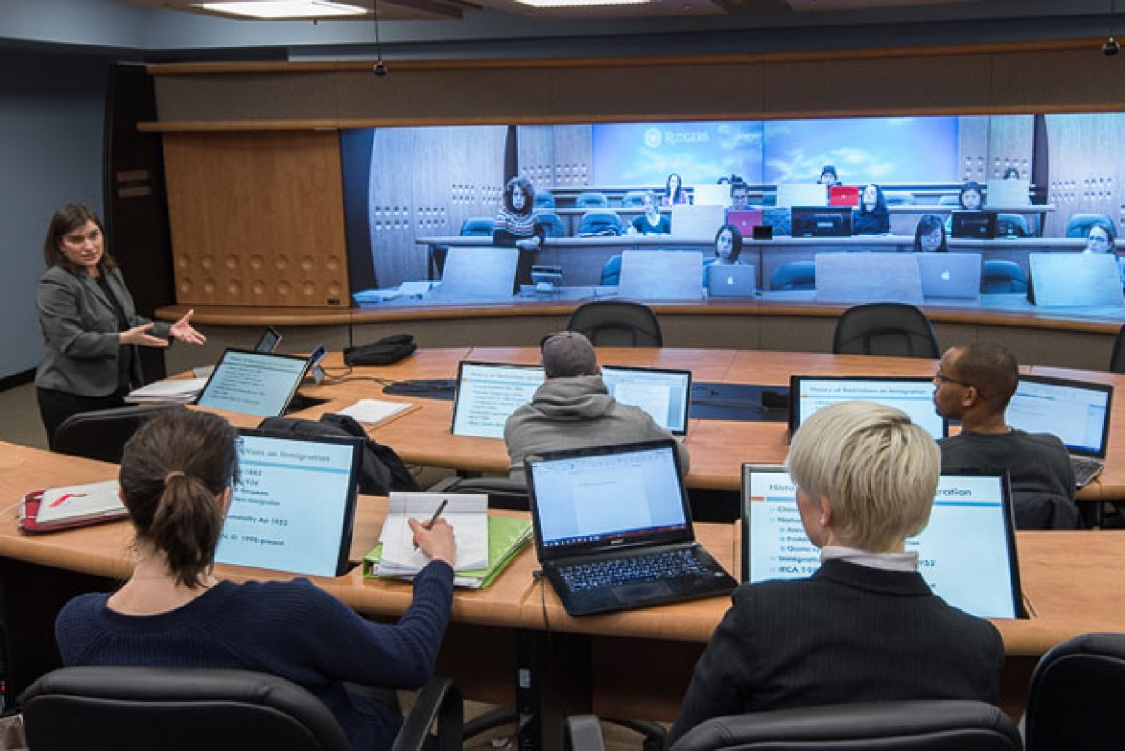 Modern Classroom In The ~ Modern legal classroom new technology expands course