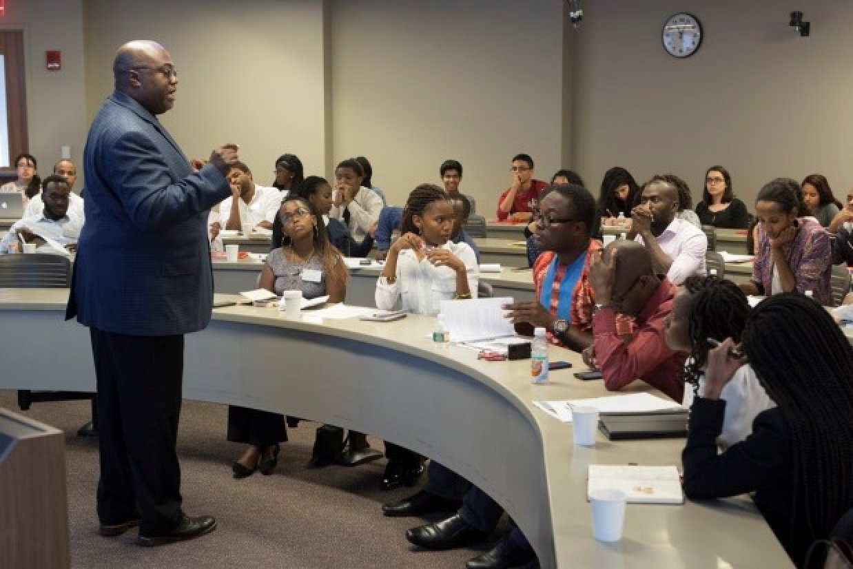 high school students learn about supply chain management at rbs at rutgers business school a summer program designed for high school students provides an eye opening look at the field of supply chain management
