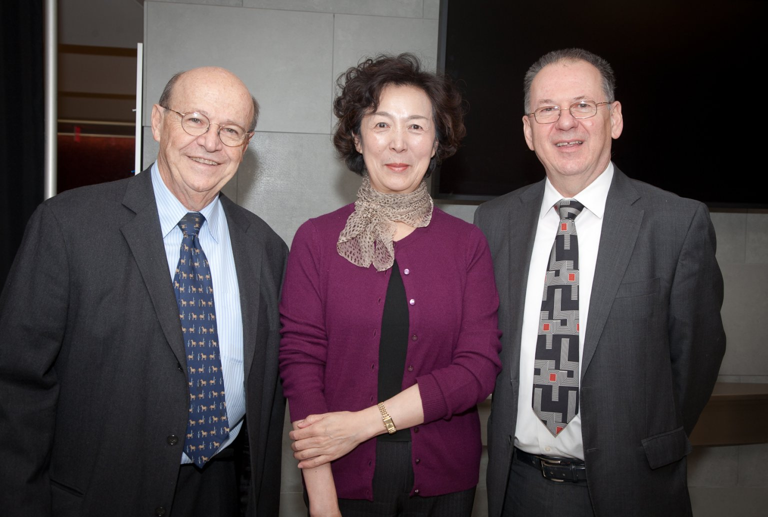 2d6ba19358583 Professor Vasarhelyi is reappointed and celebrated as KPMG s distinguished  professor of accounting